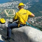 نظافت مجسمه مسیح برزیل با کارچر